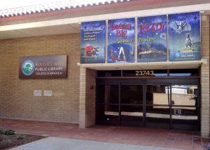 Valencia Library exterior