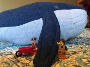 Lego blue whale