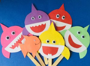 baby shark puppets