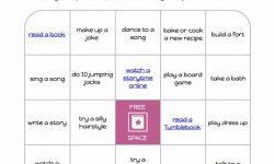 kids bingo sheet